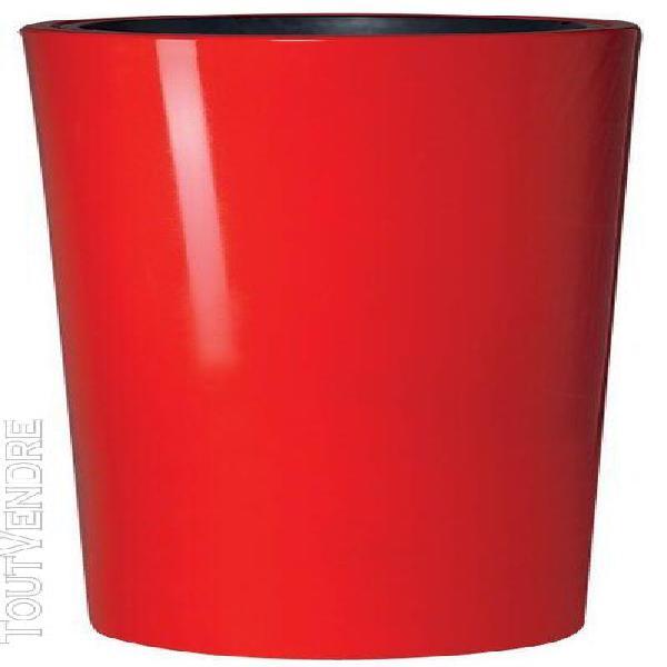 poterie color tomato - 110cm - Ø58 cm