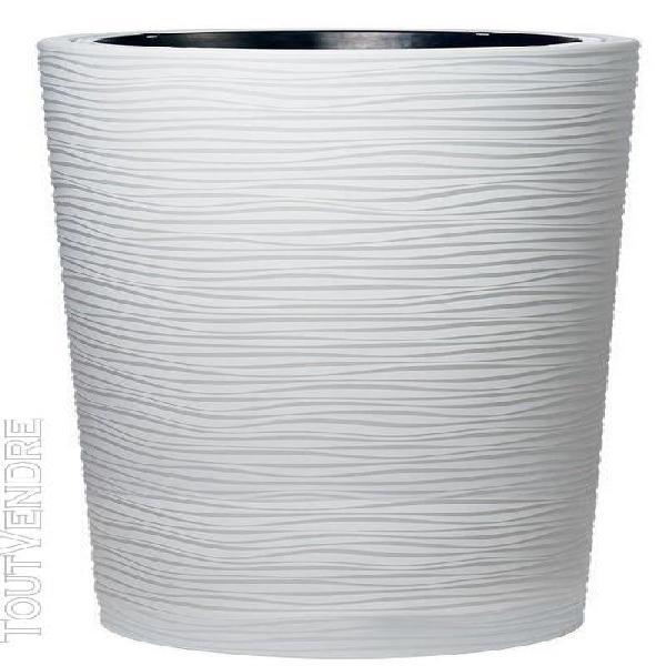 poterie natura arctic - 110cm - Ø58 cm
