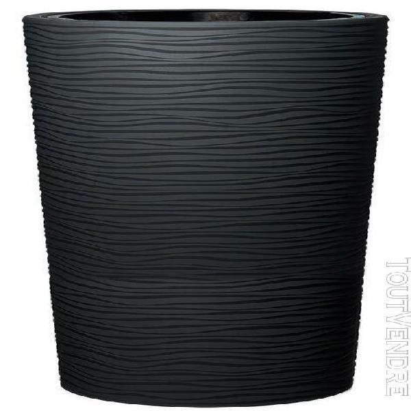 poterie natura gris graphite - 110cm - Ø58 cm