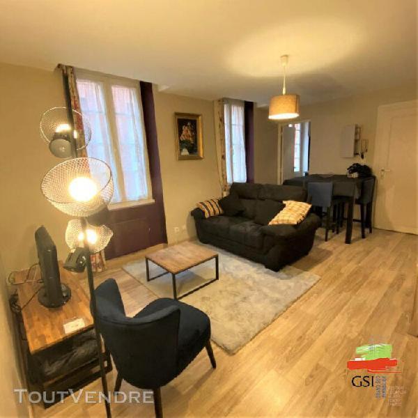 T3 meuble plein centre ville