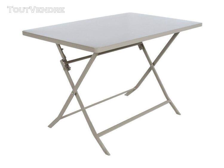 table de jardin hespéride rectangle greensboro 110 x 70 cm