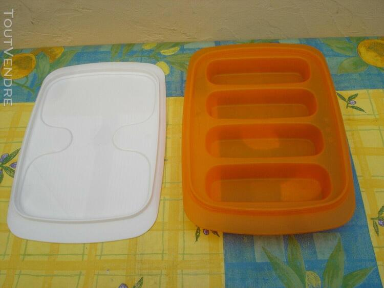 Tupperware boite à sushis où autre....blanche et orange 4