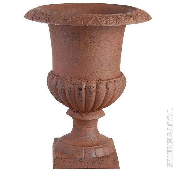 vase médicis en fonte 35 cm