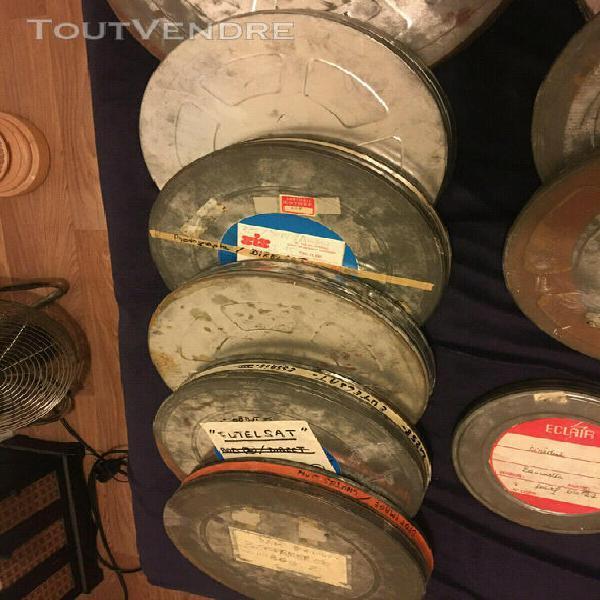 11 boites bobines film 35 mm kodak eastman anciennes