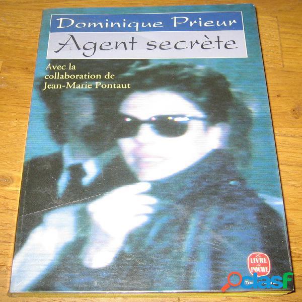 Agent secrète, dominique prieur