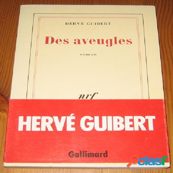 Des aveugles, Hervé Guibert