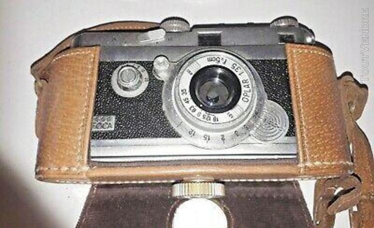 ancien appareil photo foca oplar 13,5 f 5 cm années 50