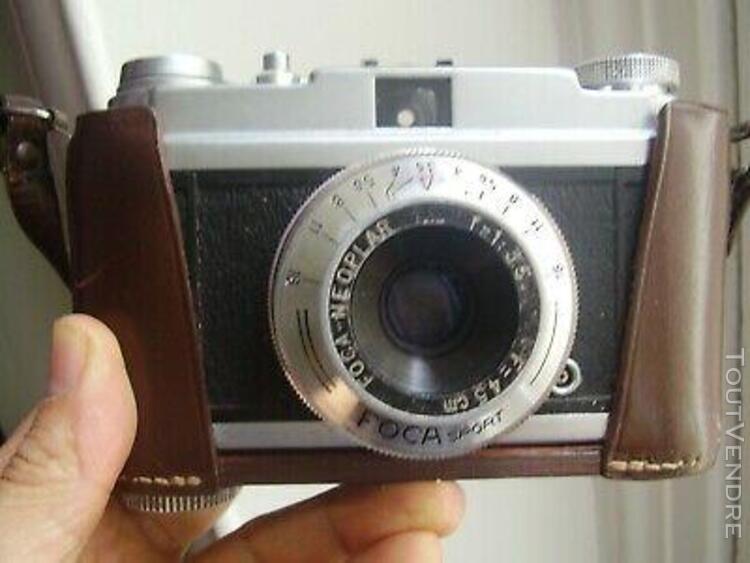 appareil photo argentique ancien foca sport
