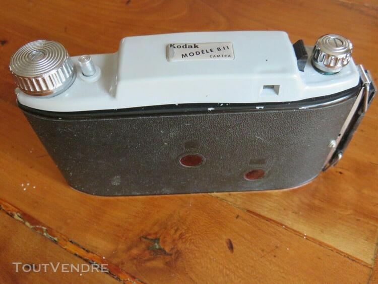 appareil photo argentique à soufflet kodak b 11 1955
