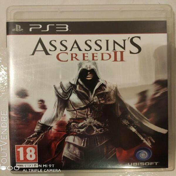 Assassin's creed 2 ii - ps3 - vf ubisoft - occasion parfait