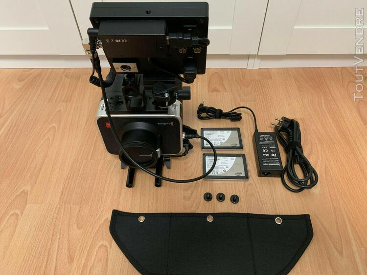 blackmagic cinema camera bmcc 2.5k monture canon ef - kit