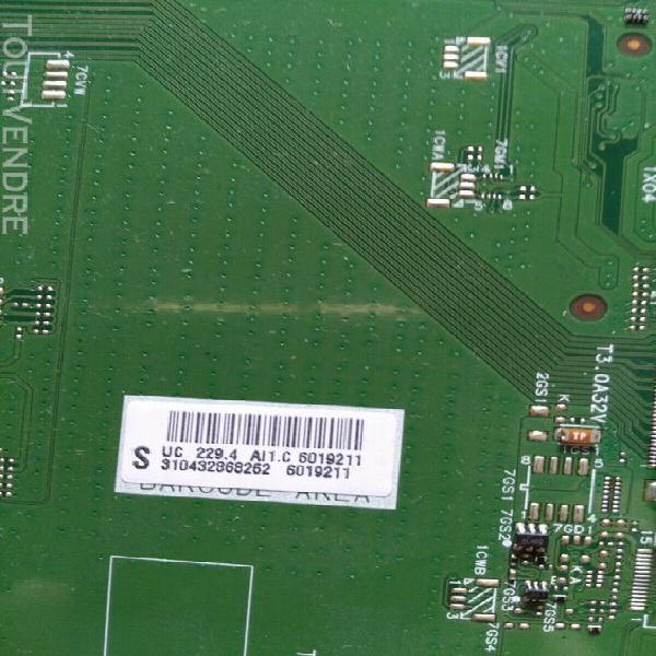 carte mere avec tcon et cable pour tv philips 55pfl6007h/12