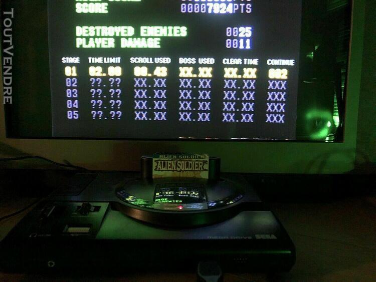 Console sega mega drive megadrive avec manette & jeux no