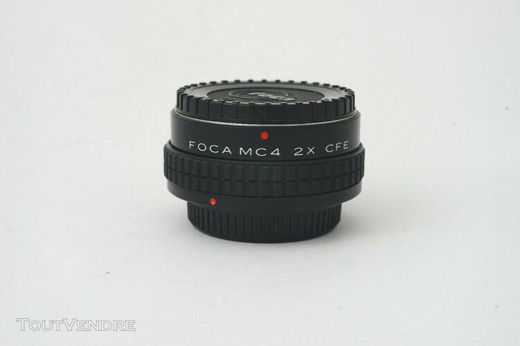 doubleur de focale foca mc4 2x cfe pour canon fd - tres bon
