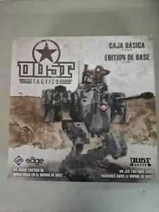 Dust tactics - édition révisée - superbe jeu de figurines