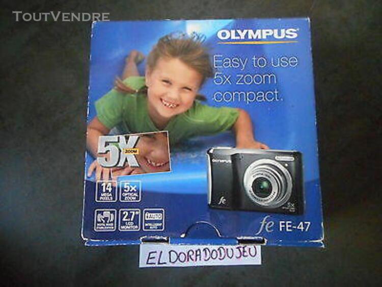 eldoradodujeu > appareil photo olympus fe-47 14 megapixels z