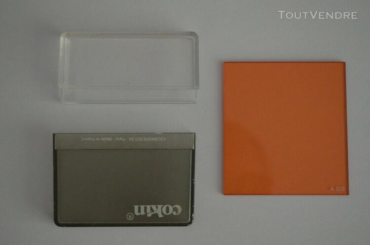 filtre cokin coef + 2/3 orange (85)