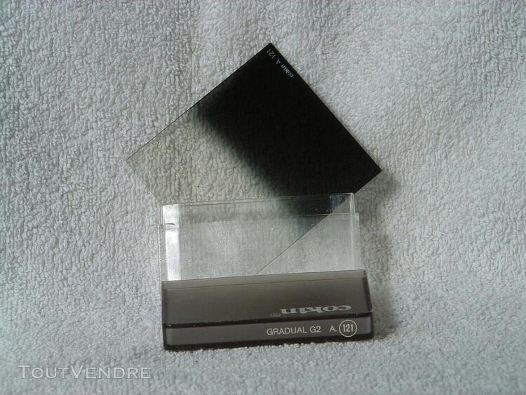 filtre cokin systeme a, a 121 dégradé gris g2 (nd4)
