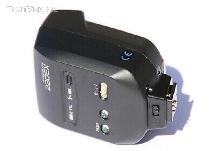 Flash canon 220 ex pr boitier eos numérique 430ex 550ex