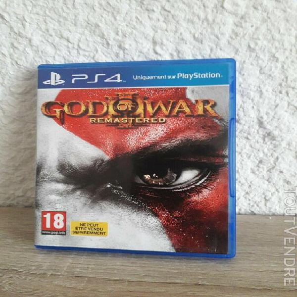 God of war 3 ps4 remastered bon état vf