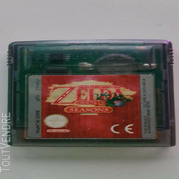 Jeux game boy color zelda oracle of seasons