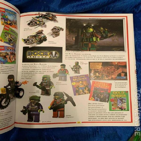 Livre l'univers lego - histoire légo - 125 pages - broché