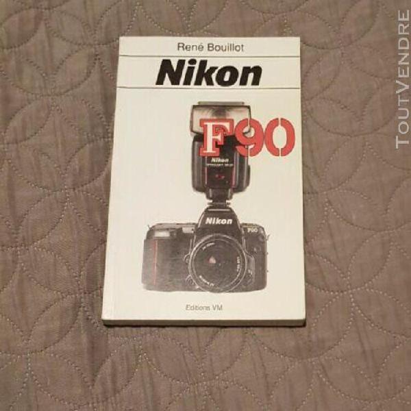 livre photo sur le nikon f 90