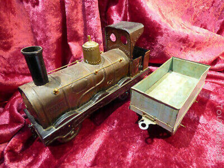 Locomotive a vapeur de parquet ou de plancher n° 114 marque