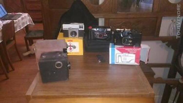 lot de 4 appareils photos