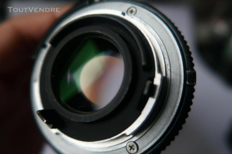 nikon ai-s nikkor 50mm f/1.8 mf lens objectif lens manual m