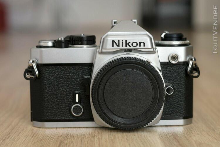 nikon fe - silver - excellente condition !