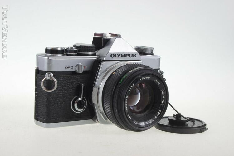 olympus om-2 « kit » + olympus 50mm + olympus 75-150mm +