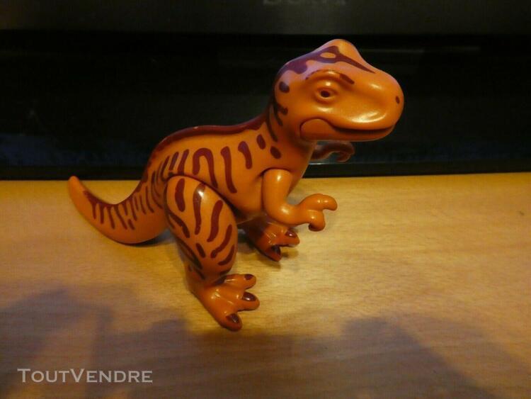 Playmobil 3170 t-rex dinosaure exploration explorateur poles