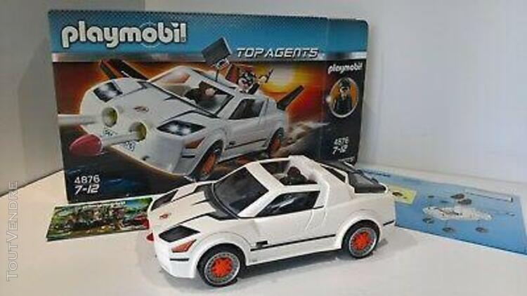Playmobil 4876 voiture espion top agents modele 2010