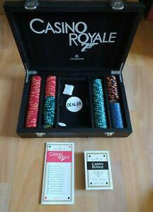 Poker set casino royale james bond 007 cartamundi