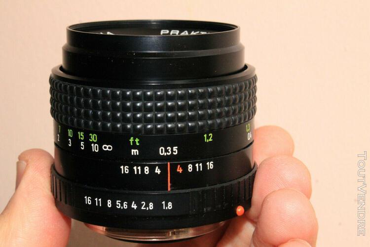 prakticar aus jena 50 mm 1,8 b