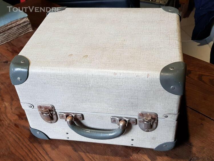 projecteur crat r et valise de transport ancien som berthi