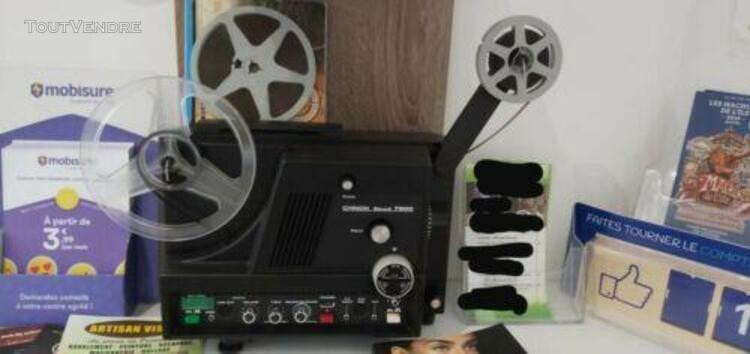 projecteur super 8 chinon 7500 sonore tres bon état. -