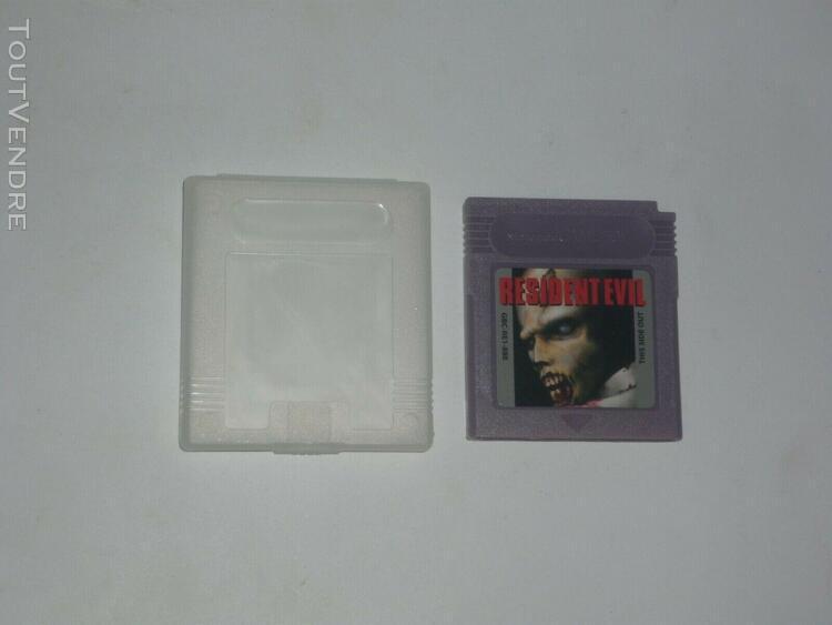 Resident evil 1 + 2 nintendo game boy gameboy gb gbc gba gba