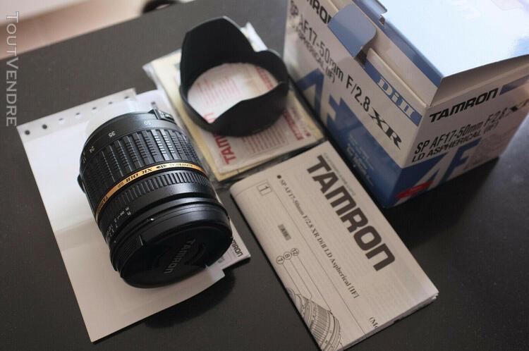 tamron sp af 17-50mm f/2.8 xr ld (if) modèle a16nii pour