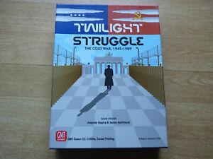 Twilight struggle – 2ème edition – gmt games