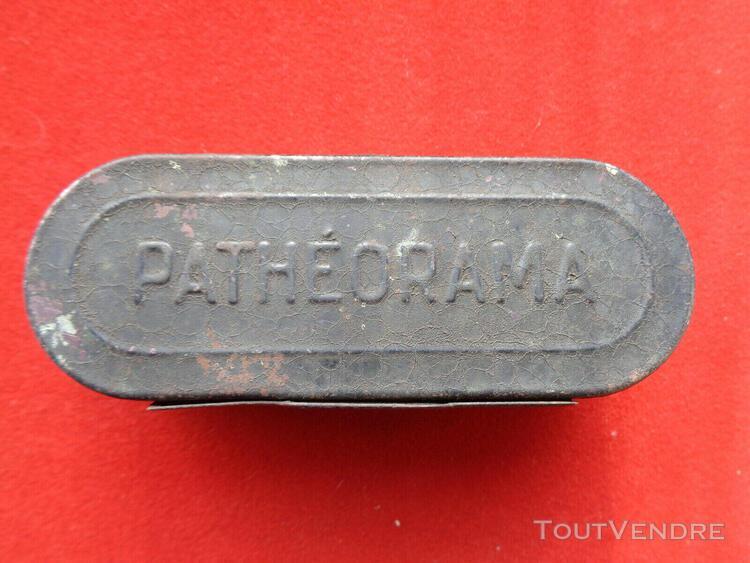 visionneuse ancienne de films en métal marque patheorama et