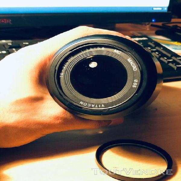 Vitacon 70-210mm f4.0-5.6 mc macro zoom lens - pentax k fit