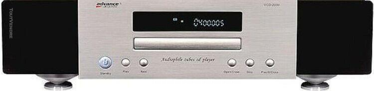 advance acoustic mcd 204 (préparé art !) lecteur cd tubes