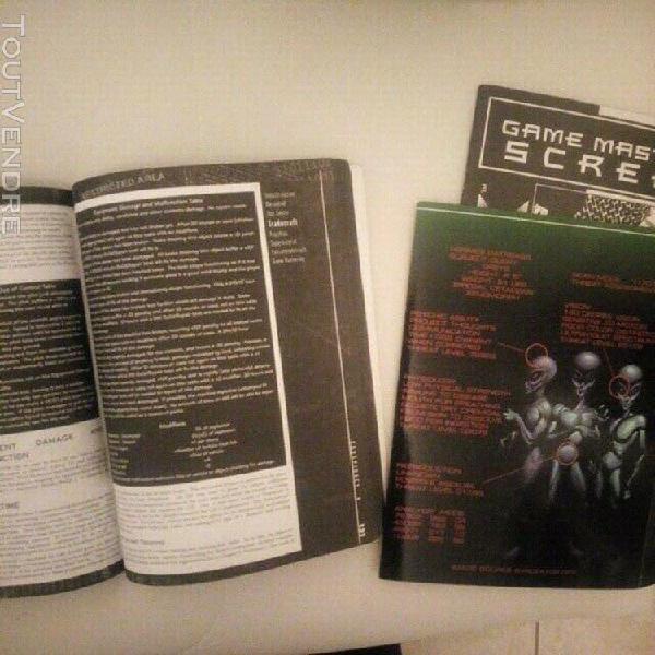 Conspiracy x - livre de base + ecran - 1ere edition vo - jdr