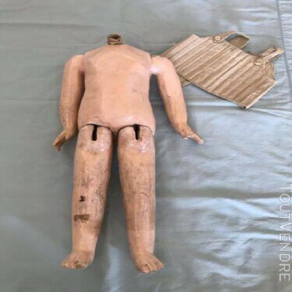 Corps steiner 46 cm poupée ancienne