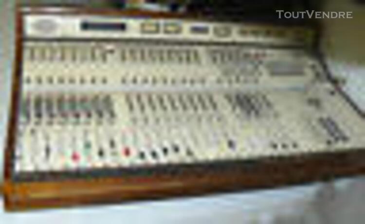 importante console radio / studio / broadcast girardin cs