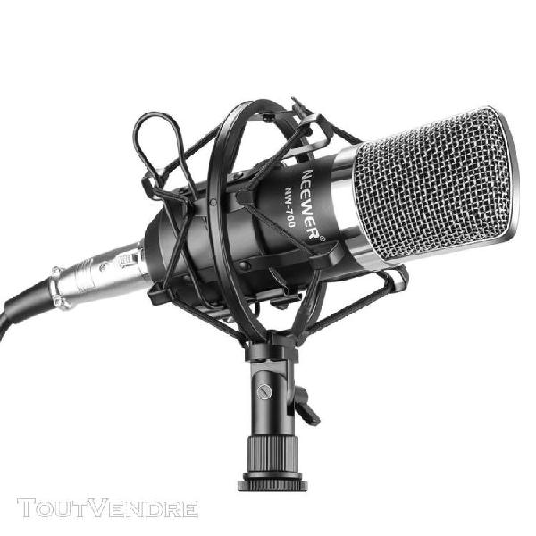 neewer nw-700 studio professionnel radiodiffusion microphone