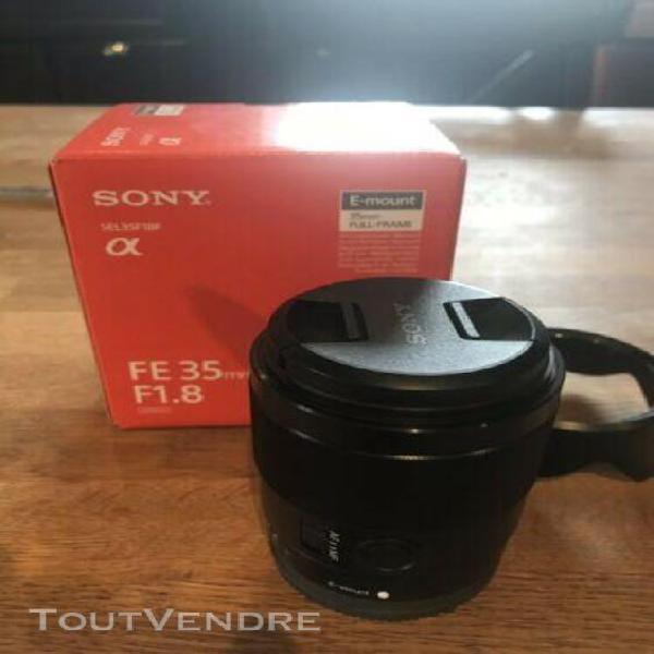 Objectif sony fe 35 1.8 lens