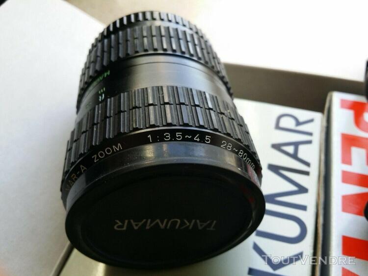 Pentax p30 zoom kit takumar